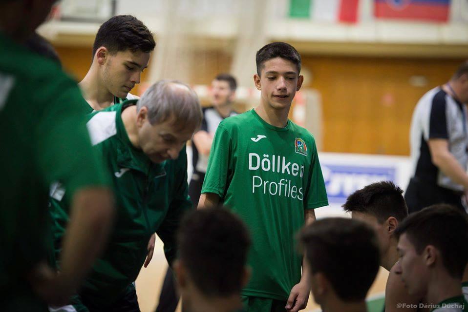 Балкан U15 се бори, но загуби последния мач в Словакия