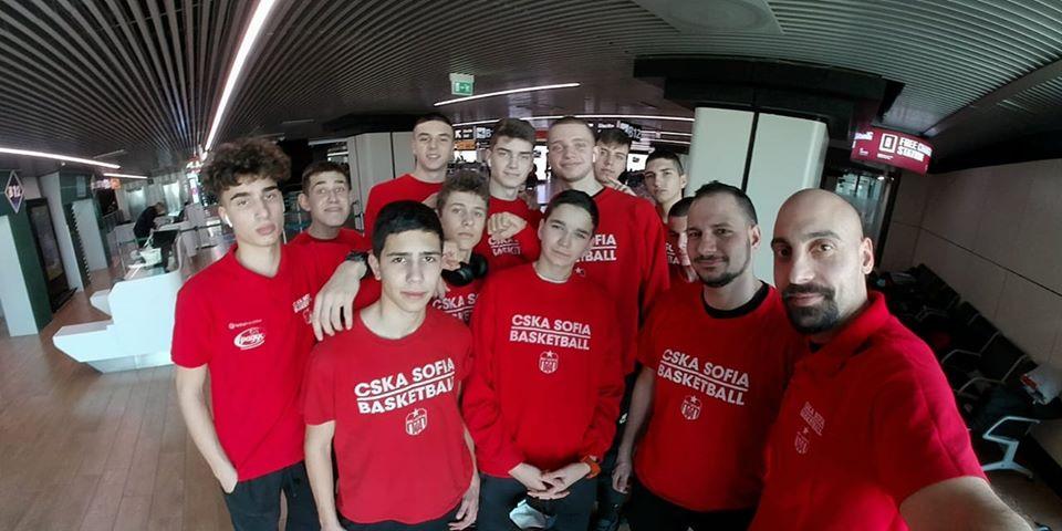 ЦСКА U16 ще играе в Европа