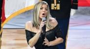 Всички се бъзикат с Фърги за изпълнението на химна в ЛА (видео)
