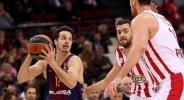 Барселона разби Олимпиакос без Везенков