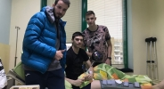 Съотборници изненадаха млад талант на Академик за рождения му ден