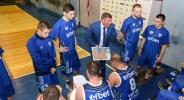 Силна подкрепа за Спартак в последния мач за сезона