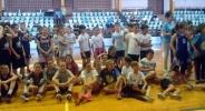 Стотици деца се включиха в детски баскетболен празник в Плевен