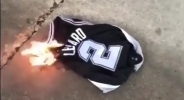 Фен на Сан Антонио изгори екипа на Ленард (видео)