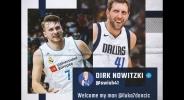Дирк приветства Дончич