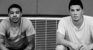 Девин Букър и Тайлър Юлис в махленски бой (видео)