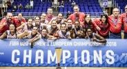 Крайно класиране на европейското първенство за жени U20