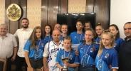 Баскетболистките на Дунав U14 получиха знаме Русе