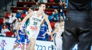 Фамозна тройка със сирената на Евробаскет U20 в Дивизия А (видео)