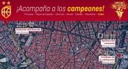 Мадрид се стяга за парада на шампионите