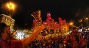 Кралско посрещане за шампиона Испания в Мадрид (видео)