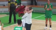 Романтика по време на мач: Преслава Колева каза ′Да′ на предложение за брак