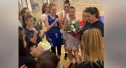 Сладка изненада от малките шампионки на Рилски спортист за треньорката им