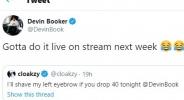 Популярен Fortnite играч загуби облог заради Девин Букър