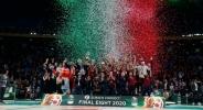 Осмият в Италия триумфира с Купата