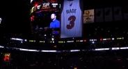 Маями извади от употреба номера на Уейд на специална церемония (видео)