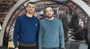 Христо Захариев и Асен Великов призоваха за пълна зала срещу Латвия (видео)