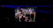 Националите отпразнуваха победата над Латвия